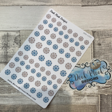Snowflake stickers (DPD1935)