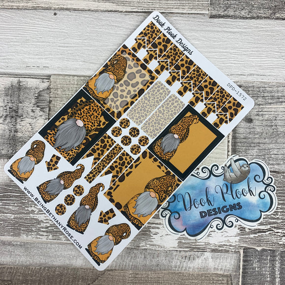 Leopard Gonk functional stickers  (DPD1572)