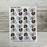 Black Woman - Bike Stickers (DPD1399)