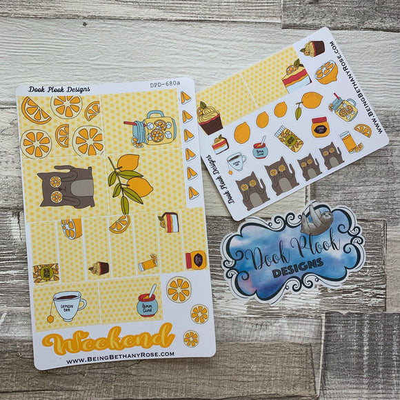 Lemon week sticker set (DPD680)
