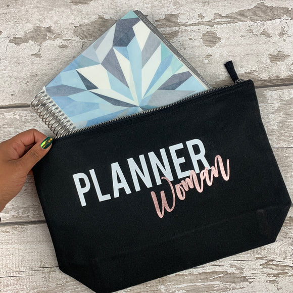 Planner Woman - Planner Pouch