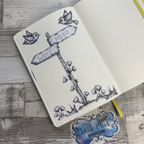Sign post sticker for bullet journals (BUJO-0015)