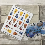 Guitar stickers (DPD197)
