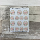 Cross stitch / embroidery stickers (DPD1145)