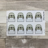 Sloth box stickers (DPD392)