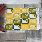 Lemon half box stickers (DPD1736)