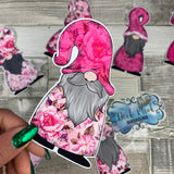 Rose Gonk Die cut (Pink hat)
