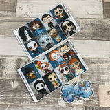 Horror full box stickers for Erin Condren (DPD1482)