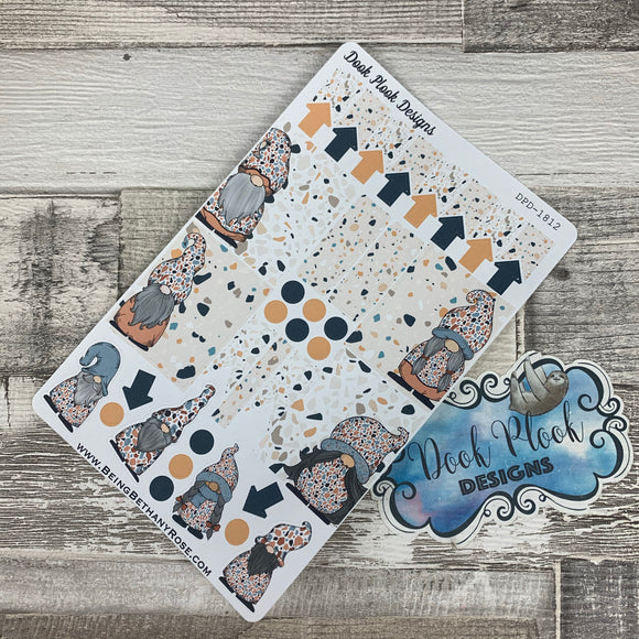 Terrazzo Gonk functional stickers  (DPD1812)