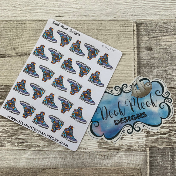 Hi-top trainers sticker (DPD1776)