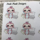 Sloth Bill Stickers (DPD1212)