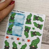 Gonk Stickers (Green Small DPD-1525)