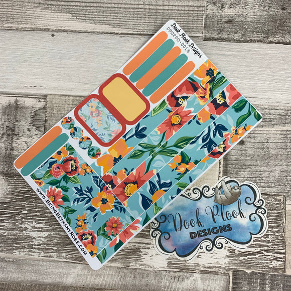 Passion Planner Daily stickers - Summer Bloom (DPDPPD-0018)
