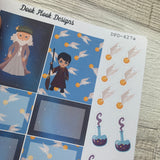 Wizarding world stickers (DPD427)