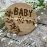Pregnancy / Baby announcement photo prop