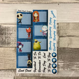 Nightmare (can change month) Monthly View Kit for the Erin Condren Planners