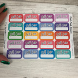 Selfcare boxes stickers with writing space (DPD1617)