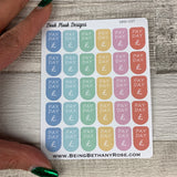 Pay day stickers (DPD107abcd)
