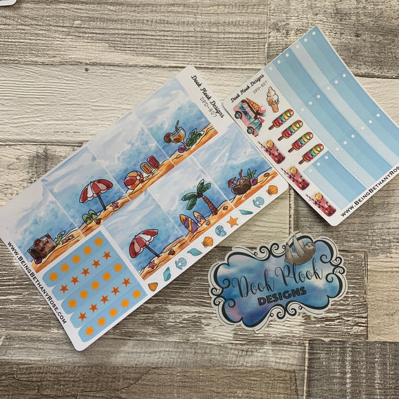 Summer week sticker set (DPD807)