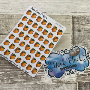 Grocery shopping / food shop stickers (Dinkies)  (DPD-D014)