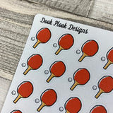 Table tennis (ping pong) stickers (DPD714)