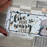 Terrazzo Gonk Passion Planner Week Kit (DPD1814)