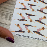 Pregnancy yoga stickers (DPD1218)