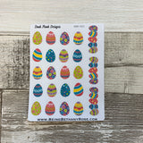 Easter egg stickers (DPD521)