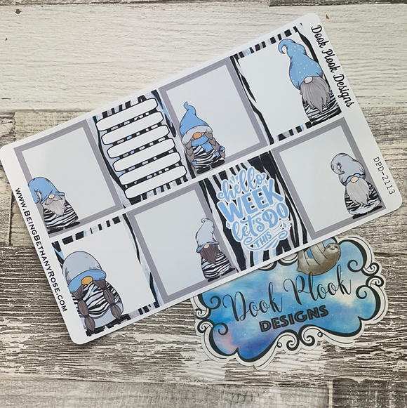Blue Zebra Gonk full box stickers (DPD2113)