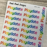 Playdate stickers (DPD547)