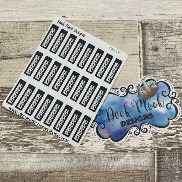 Keyboard stickers  (DPD355)
