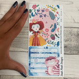 Erin Condren Month Note Pages (wonderland)
