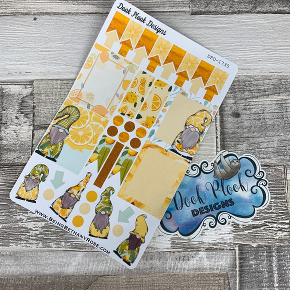 Lemon Gonk functional stickers  (DPD1735)