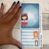 Erin Condren Month Note Pages (Christmas Kids)