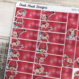 Christmas / elf header  stickers (DPD1074)