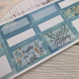 Travelling (can change month) Monthly View Kit for the Erin Condren Planners
