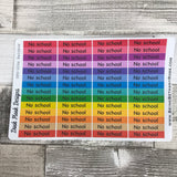 No school stickers (DPD1353)