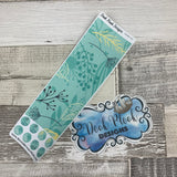 Passion Planner Hour Cover up / Washi strip stickers (Green Foliage DPDW-29)