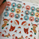 Christmas Mix Stickers  (DPD058)