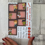 Xmas Hero (can change month) Monthly View Kit for the Erin Condren Planners