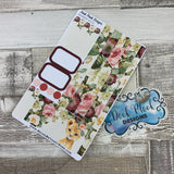 (0151)Passion Planner Daily stickers - Lion Watercolour