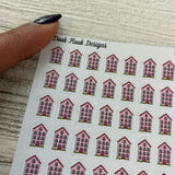 Tiny house stickers (Dinkies)(DPD-D002)