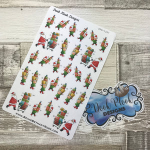 Christmas Shopping Stickers (DPD1347)