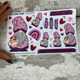 Purple Love Gonk Stickers (TGS0029)