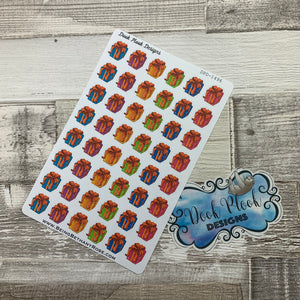 Christmas / Birthday present stickers (DPD1496)