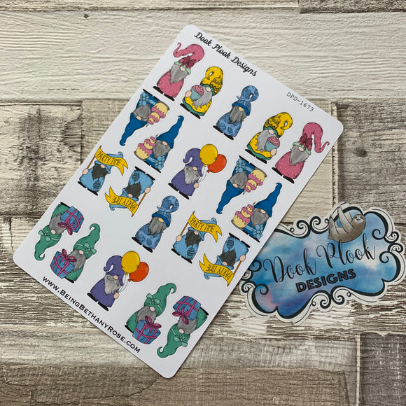 Party time Gonk Character Stickers Mixed (DPD1673)