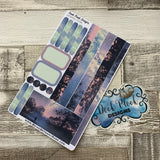 (0096) Passion Planner Daily stickers - Twilight Walks