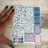 Blue Vines Passion Planner Week Kit (DPD1639)