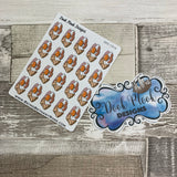 Full english breakfast stickers (DPD1016)
