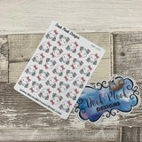 Octopus Character shopping bag stickers (DPD 1378)